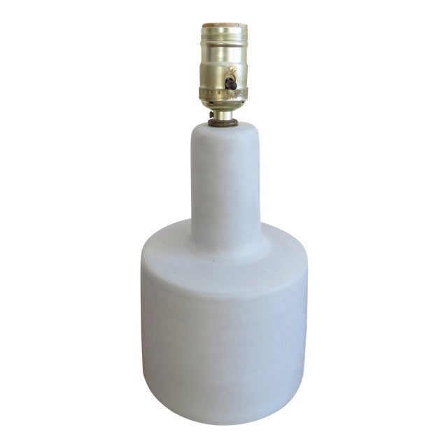 1960s Mid-Century Modern Gordon Martz Marshall Studios Ceramic Pottery Table Lamp For Sale