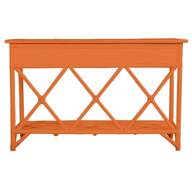 Coastal Aruba Sideboard - Orange For Sale - Image 3 of 6