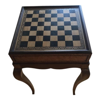 Antique Game Table For Sale