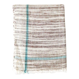 Khadi Towel in Brown For Sale
