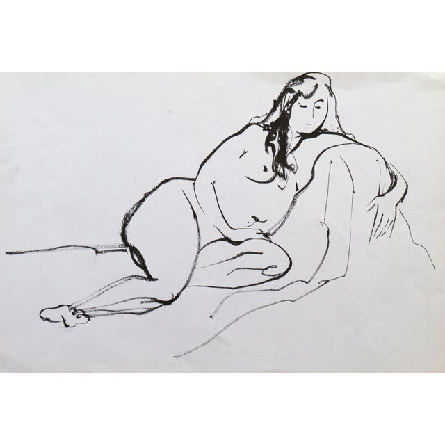Reclining Nude by Michael Decker - Image 1 of 4