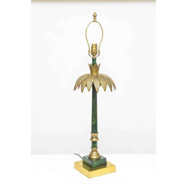 Palm Leaf Table Lamp by Wildwood - Image 2 of 5