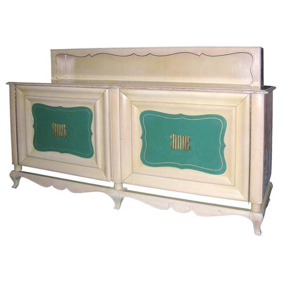White 1940s Vintage Grosfeld House Buffet For Sale - Image 8 of 8