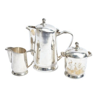 Silver Serving Set - 3 Pieces