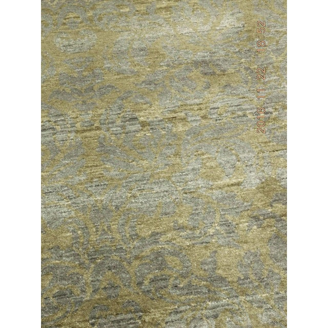 """Hand-Knotted Contemporary Rug - 6'x 9'5"""" - Image 7 of 10"""