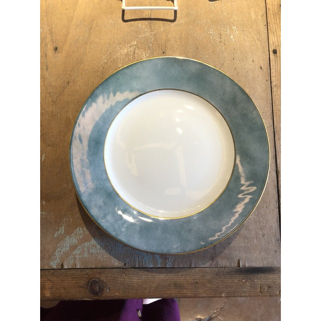 Set of Six Galuchat Plates by Manuel Canovas for Puiforcat For Sale In Atlanta - Image 6 of 13