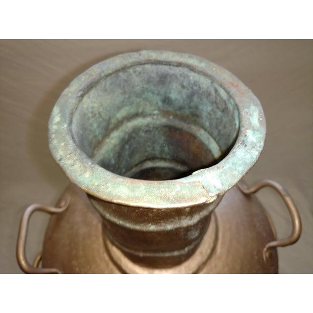 Antique Turkish Water Dispenser Samovar For Sale In Sacramento - Image 6 of 8