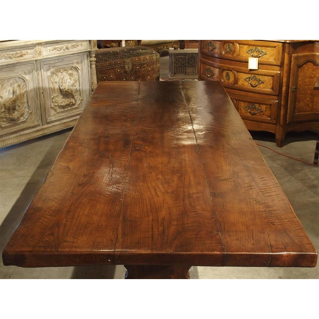 Italian Antique Italy, 19th Century Oak Dining Table For Sale - Image 3 of 11