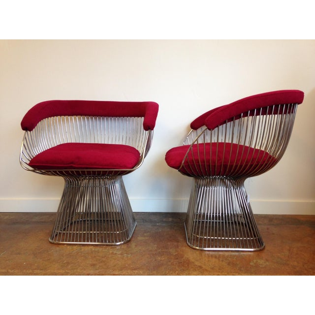 Vintage Warren Platner Style Chairs - A Pair - Image 3 of 5