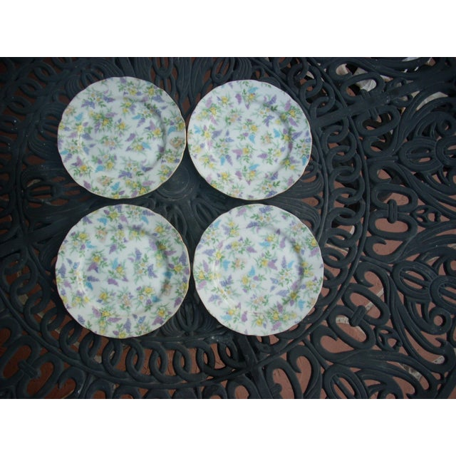 Lefton China Dessert Plates - Set of 4 - Image 2 of 5
