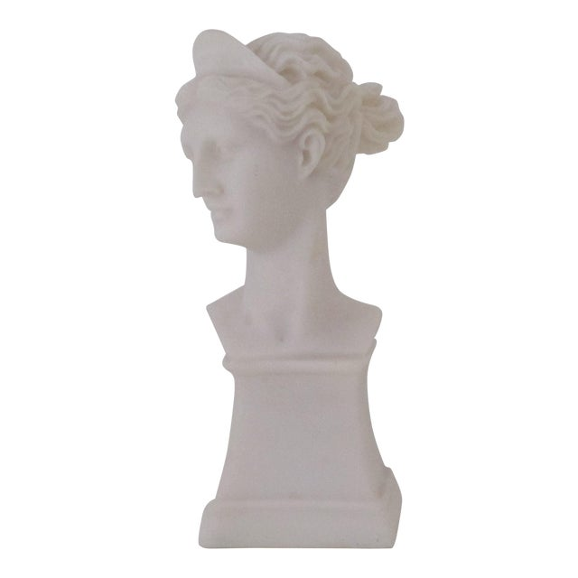 Marble Goddess Bust - Image 1 of 3