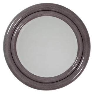 "1980's Vintage Karl Springer ""Double Bullseye"" Mirror For Sale"