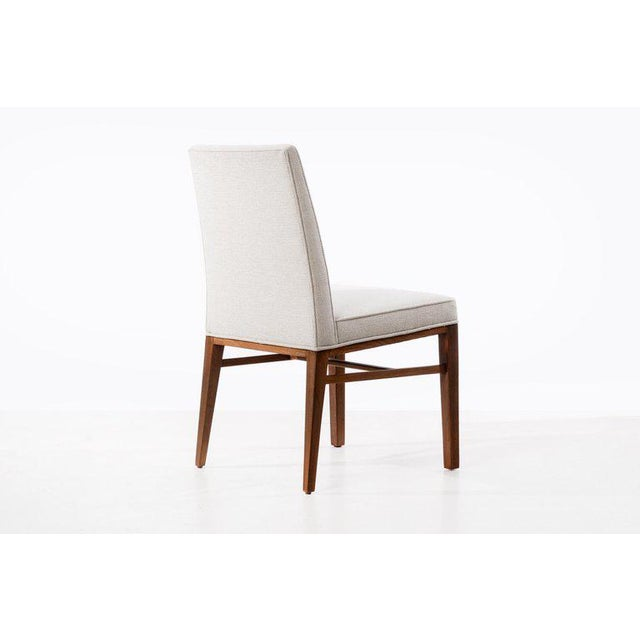 1950s Edward Wormley Set of Six Dining Chairs For Sale - Image 5 of 13