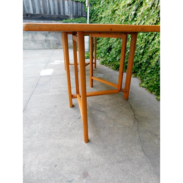 1937 Swedish Bruno Mathsson Folding Table For Sale In San Francisco - Image 6 of 12