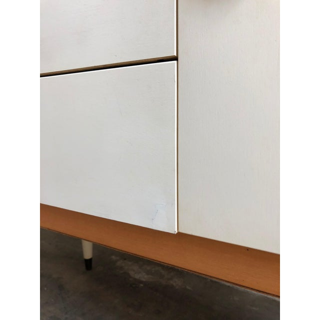Vintage 1970s Mid Century Modern Vanity by Schreiber For Sale - Image 10 of 11