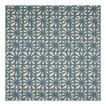 Sample - Justina Blakeney Monterey Printed Cotton and Linen Fabric, Riviera