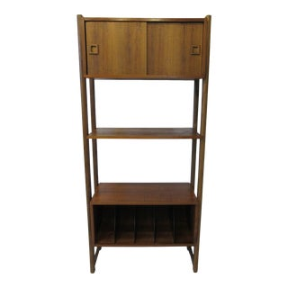Mid Century Record / Systems Etagere For Sale