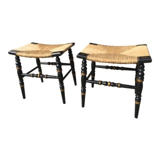 Hitchcock Stools - A Pair