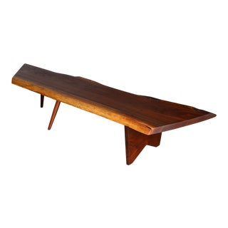 George Nakashima Slab Coffee Table 1958 For Sale