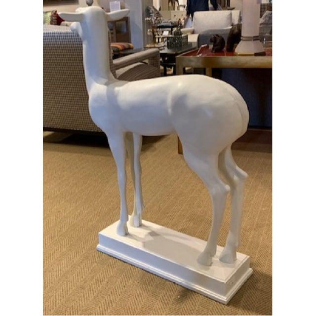 Henredon Henredon Bilhuber Collection Stag Sculpture For Sale - Image 4 of 5