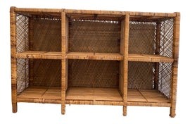Image of Wicker Bookcases and Étagères