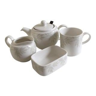 Villeroy & Boch Janda White Premium Porcelain Tea Set - Set of 4