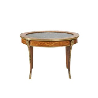 Circa 1900 French Oval Coffee Table For Sale