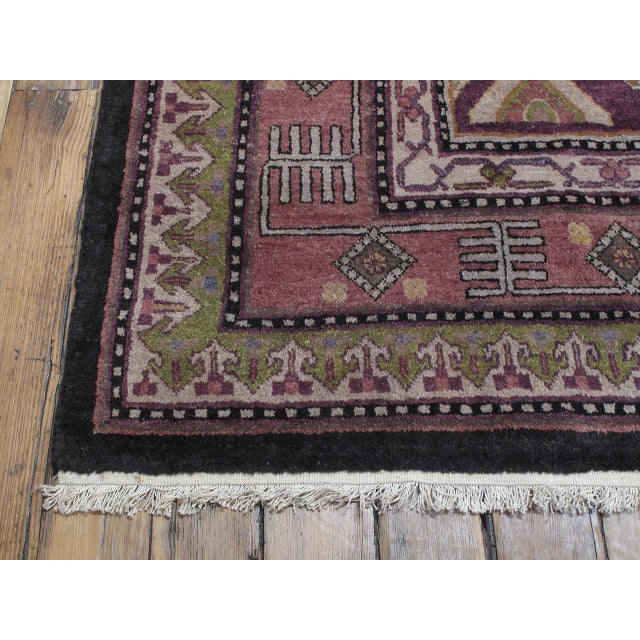 Islamic Khotan Carpet For Sale - Image 3 of 10