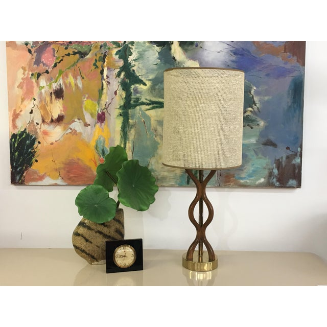Mid Century Modern danish table lamp For Sale - Image 11 of 11