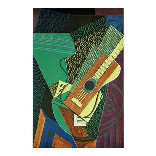 """1940s Juan Gris """"The Guitar on the Table"""" Still Life From Switzerland For Sale"""