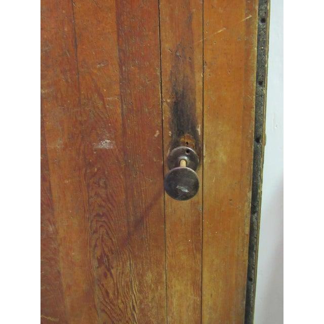Vintage Oak Walk in Fridge Door Architectural Salvage For Sale - Image 4 of 10