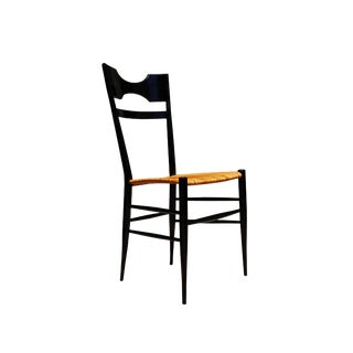 Mid-Century Modern Manner of Gio Ponti Style Chiavari Single Chair For Sale