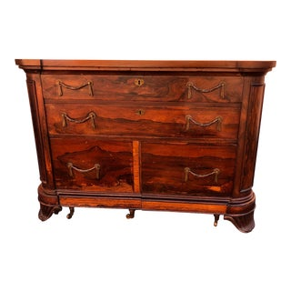 19th Century English Traditional Rosewood Credenza For Sale
