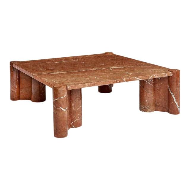 Brutalist Gae Aulenti for Knoll Jumbo Table For Sale