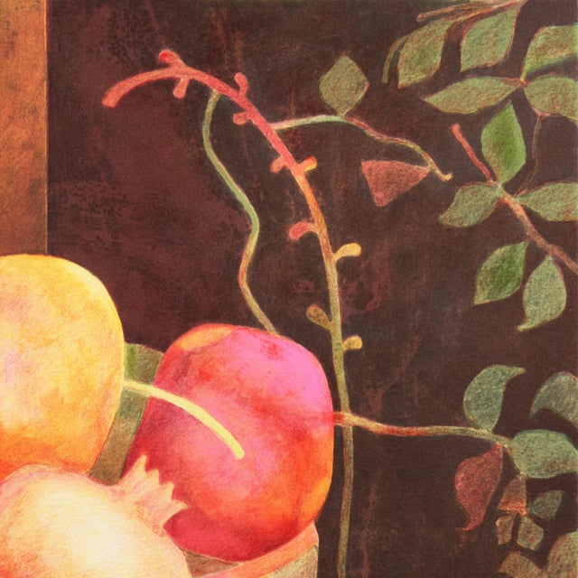 Still Life of Pomegranates by Pierre Garcia Fons For Sale - Image 6 of 10