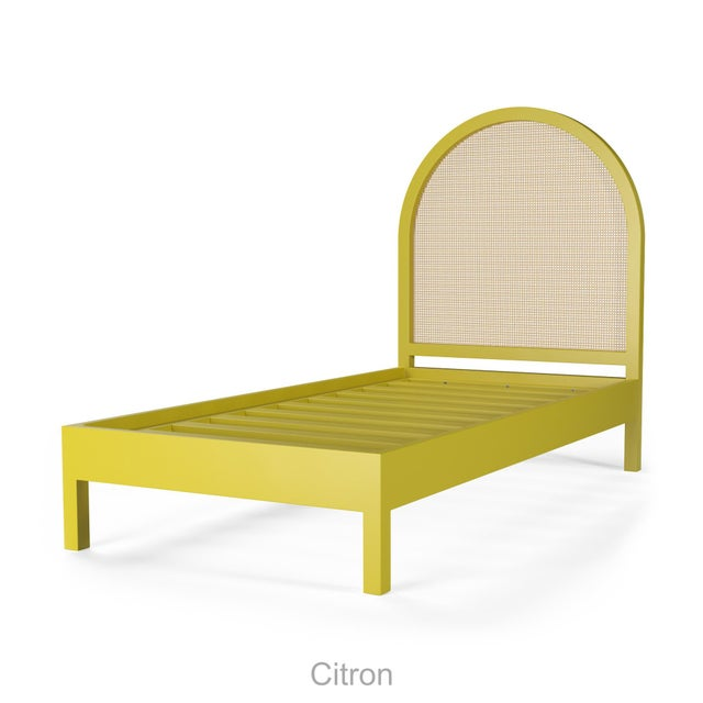 Eva Bed - Twin - Citron For Sale - Image 4 of 4