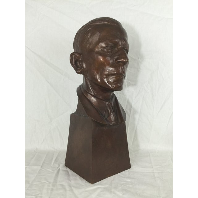 """Carl Mose Bronze """"Young King Henry"""" Bust For Sale - Image 4 of 11"""
