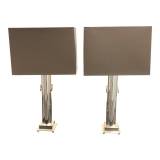 Robert Abbey Ondine Table Lamps - A Pair
