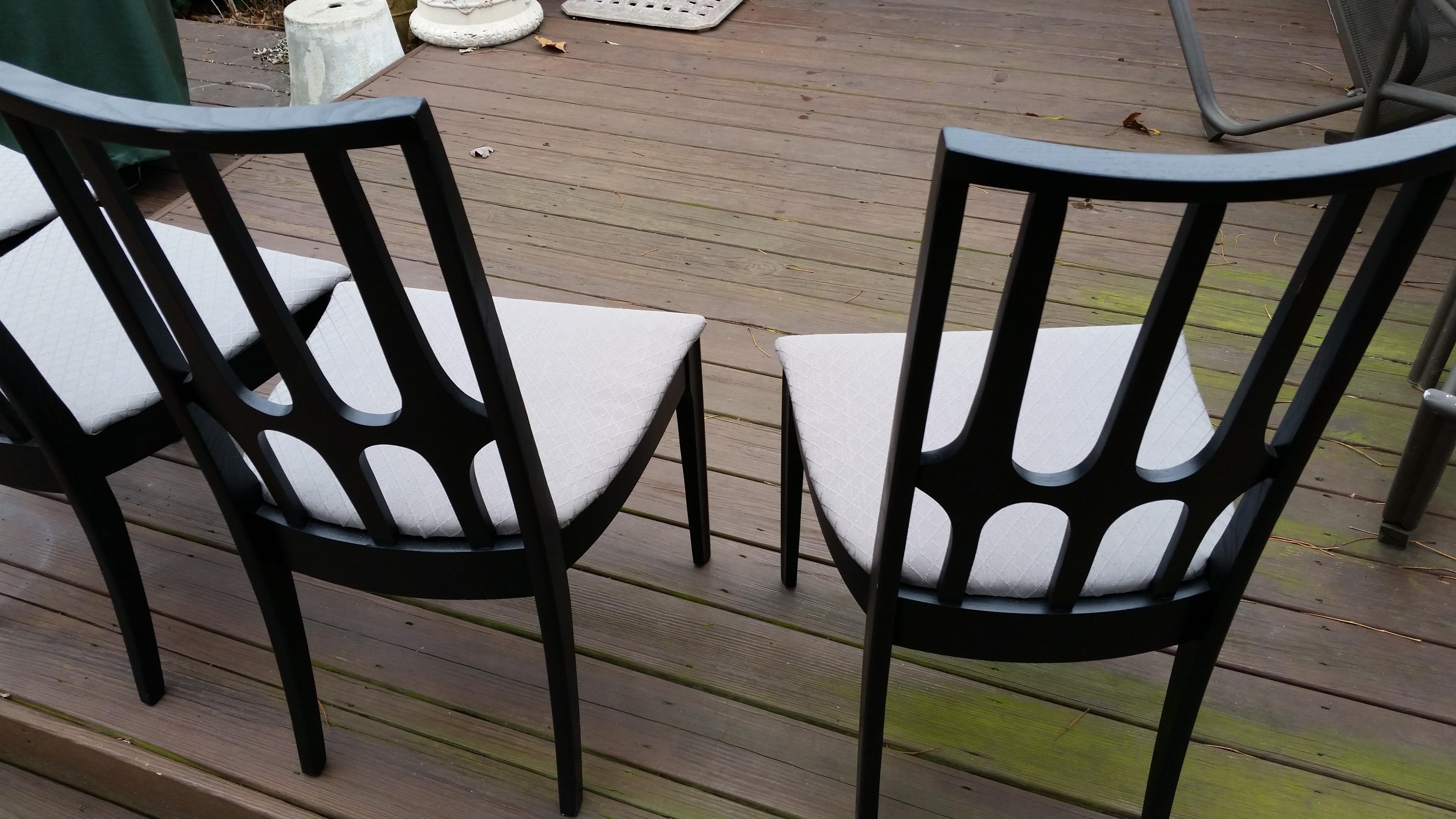 Lenoir Mid Century Danish Modern Dining Chairs   Set Of 4   Image 11 Of