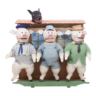 Three Little Pigs Puppetry For Sale