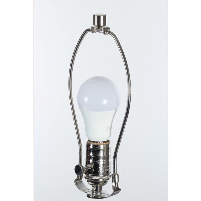 2010s Amber & Platinum Calypso Table Lamp For Sale - Image 5 of 8