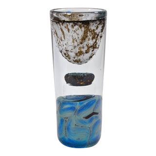 """Oiva Toikka """"Minareeti"""" Art Glass Studio Vase for Nuutajarvi Notsjo For Sale"""