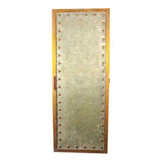1940s Vintage Studded Metal Panel For Sale