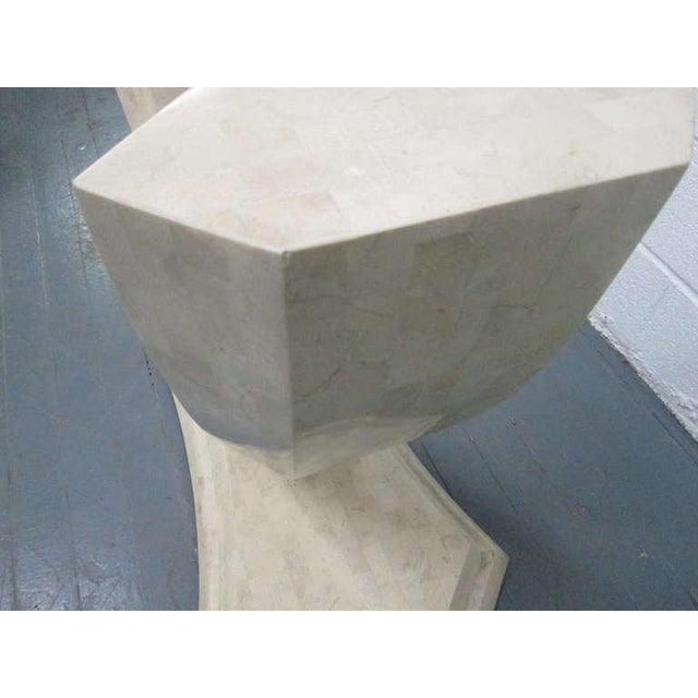 1970s Maitland Smith Tessellated Console Table For Sale - Image 5 of 8