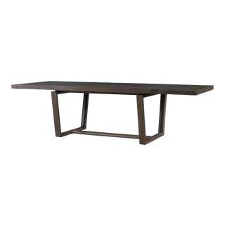 Century Furniture Hatteras Dining Table, Mink Grey For Sale