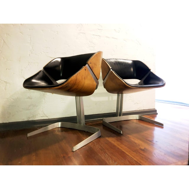 1964 Plycraft Office Chairs - A Pair For Sale - Image 12 of 12