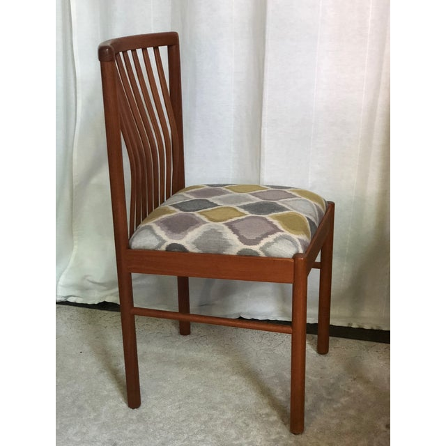 Danish Modern Danish Teak Dining Kitchen Chairs - Set of 4 For Sale - Image 3 of 9