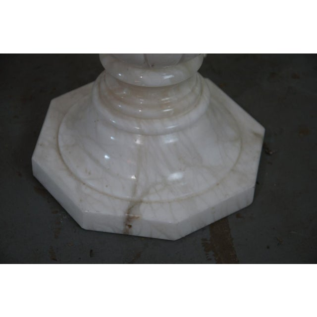 French Marble Pedestal For Sale - Image 5 of 7