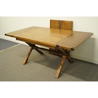 20th Century Mission Temple Stuart Rockingham Solid Maple Dining Table Preview