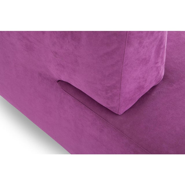 Purple Edra l'Homme Et La Femme Modular Sofa by Francesco Binfaré For Sale - Image 8 of 11